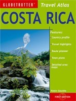 Costa Rica - Globetrotter: Travel Atlas