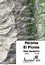 La Paloma, El Plomo térkép (21) - Aoneker