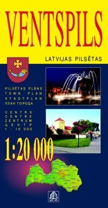 Ventspils térkép - Jana Seta