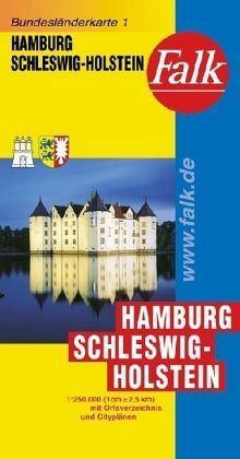 Hamburg és Schleswig-Holstein autótérkép - Falk