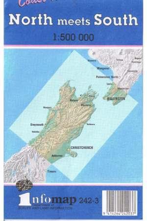 North Meets South térkép - Land Information