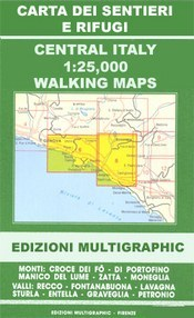 Savona - Albegna térkép (No 103/104) - Multigraphic