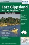 East Gippsland and the Sapphire Coast térkép - Hema