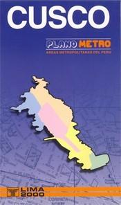 Cusco Metro térkép - Editorial Lima 2000