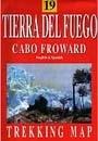 Tierra del Fuego - Cabo Froward térkép - JLM Mapas