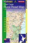 East Cape térkép - Kiwimaps