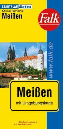 Meissen Extra várostérkép - Falk