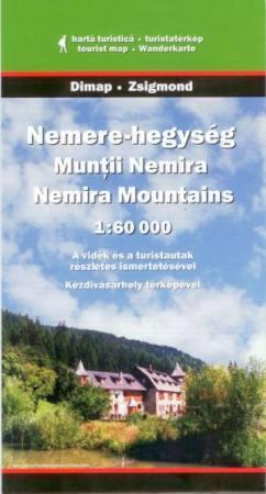 Nemere-hegység turistatérkép - Dimap & Zsigmond