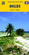 Belize térkép - ITM