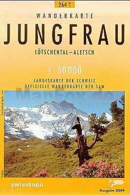 Jungfrau - Landestopographie T 264