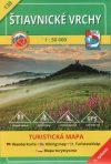 Štiavnické vrchy, hiking map (138) - VKÚ