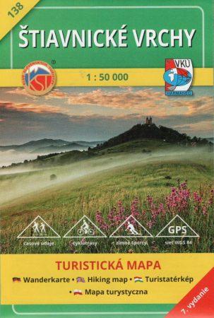 Selmeci-hegység turistatérkép (138) - VKÚ