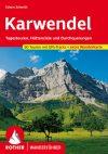 Karwendel, német nyelvű túrakalauz - Rother