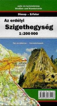 Erdélyi Szigethegység térkép - Dimap & Erfatur
