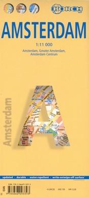 Amszterdam térkép - Borch
