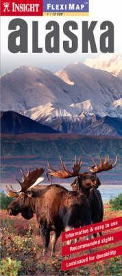 Alaszka laminált térkép - Insight