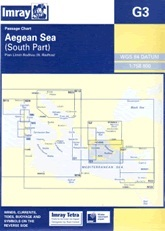 Aegean Sea (South) G3 - Imray