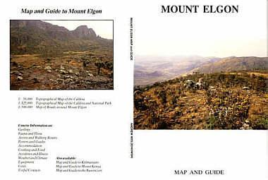 Mount Elgon térkép - EWP