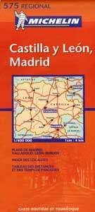 Kasztília-León, Madrid - Michelin 575