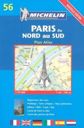 Párizs atlasz - Michelin 56