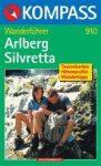 Arlberg Silvretta - Kompass WF 910