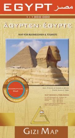 Egyiptom térkép - Gizimap
