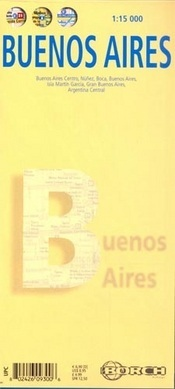Buenos Aires térkép - Borch