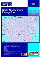North Atlantic Ocean Passage Chart 100 - Imray