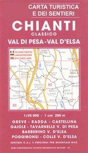Chianti Classico: Val di Pesa - Val d'Elsa térkép (No 512) - Multigraphic
