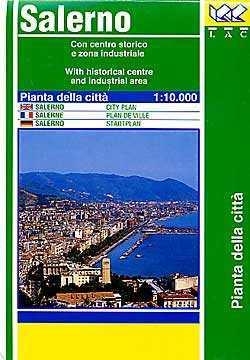 Salerno térkép - LAC