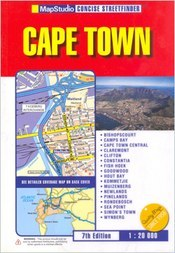 Cape Town (Concise Streetfinder) atlasz - Map Studio