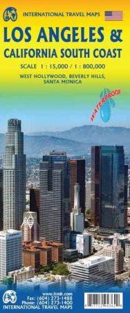 Los Angeles térkép - ITM