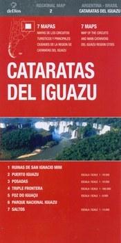 Iguazu Falls térkép (No2.) - de Dios Editores