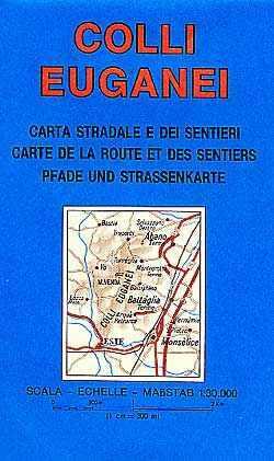 Colli Euganei, hiking map - LAC