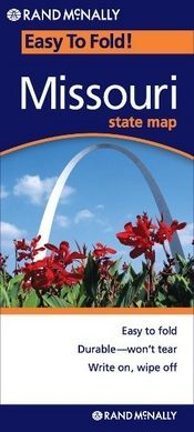 Missouri (EasyToFold) térkép - Rand McNally