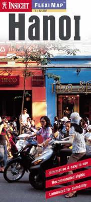 Hanoi laminált térkép - Insight
