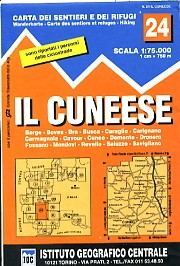 Cuneese térkép - IGC