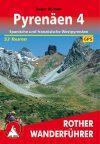 Pireneusok (4), német nyelvű túrakalauz - Rother