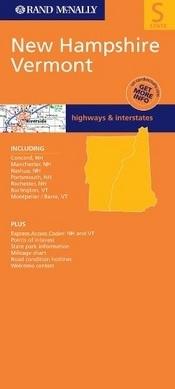 New Hampshire & Vermont térkép - Rand McNally