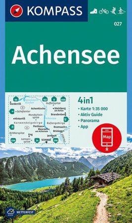 Achensee turistatérkép (WK 027) - Kompass