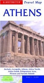 Athén térkép - Globetrotter Travel Map