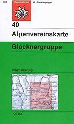 Glocknergruppe turistatérkép (40) - Alpenvereinskarte