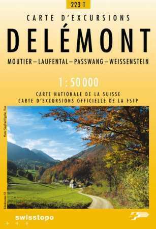 Delémont - Landestopographie T 223