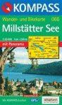 Millstätter See turistatérkép (WK 066) - Kompass