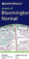 Bloomington, Normal, IL térkép - Rand McNally