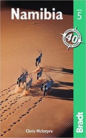 Namíbia, angol nyelvű útikönyv - Bradt