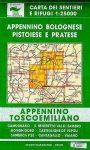 Appennino Bolognese, Pistoiese & Pratese térkép (No 23/24) - Multigraphic
