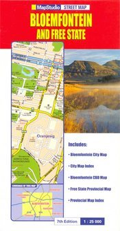 Bloemfontein & Free State térkép - Map Studio