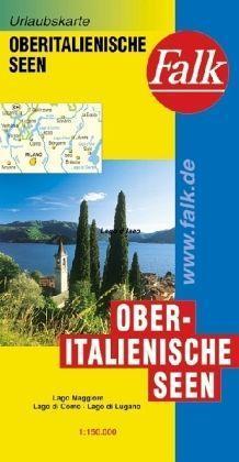Észak-olasz tóvidék térkép - Falk