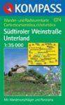 Dél-tiroli borút, Unterland turistatérkép (WK 074) - Kompass